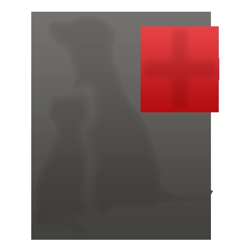 Silhueta Animais da logo do Hospital Veterinário Animal Clinic